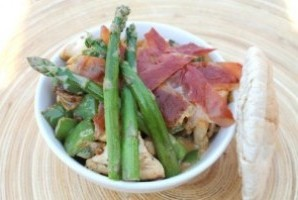 Chicken, Parma Ham and Asparagus
