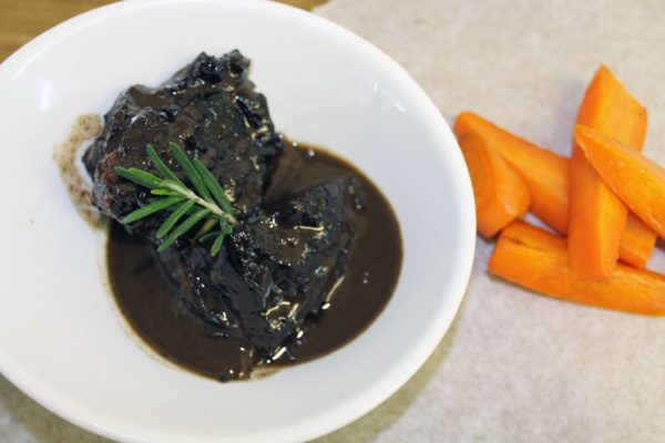 Slow Braised Beef Cheeks