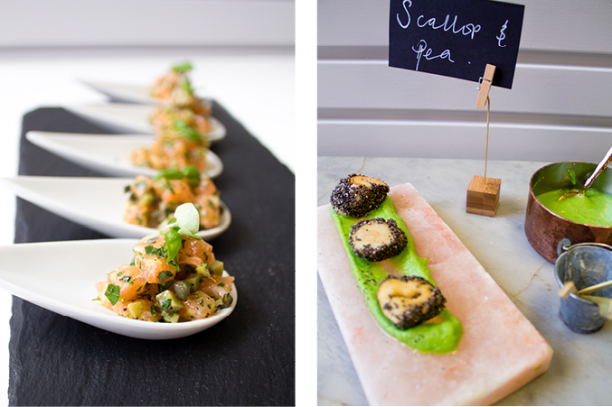 5 canap s perfect for entertaining at home social pantry for Edible canape spoons