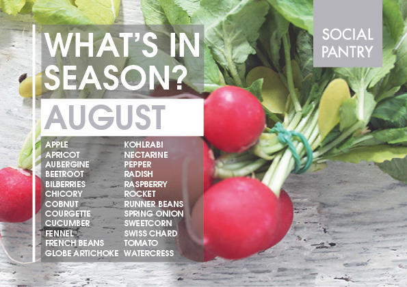 Eat with the seasons: August