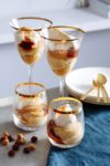 Caramel and pear trifle
