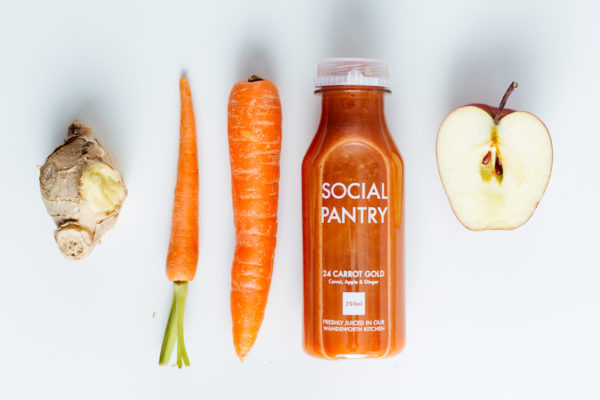 Apple, Ginger and Carrot Juice